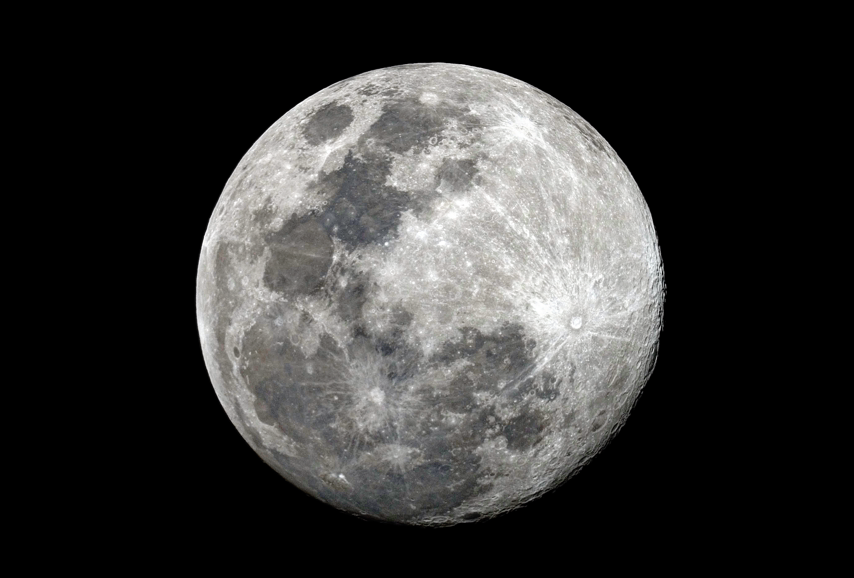 High-definition moon