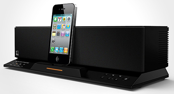Speaker dock. Bluetooth speaker. FM radio. Mobile charger. The Sound Step Recharge does it all.