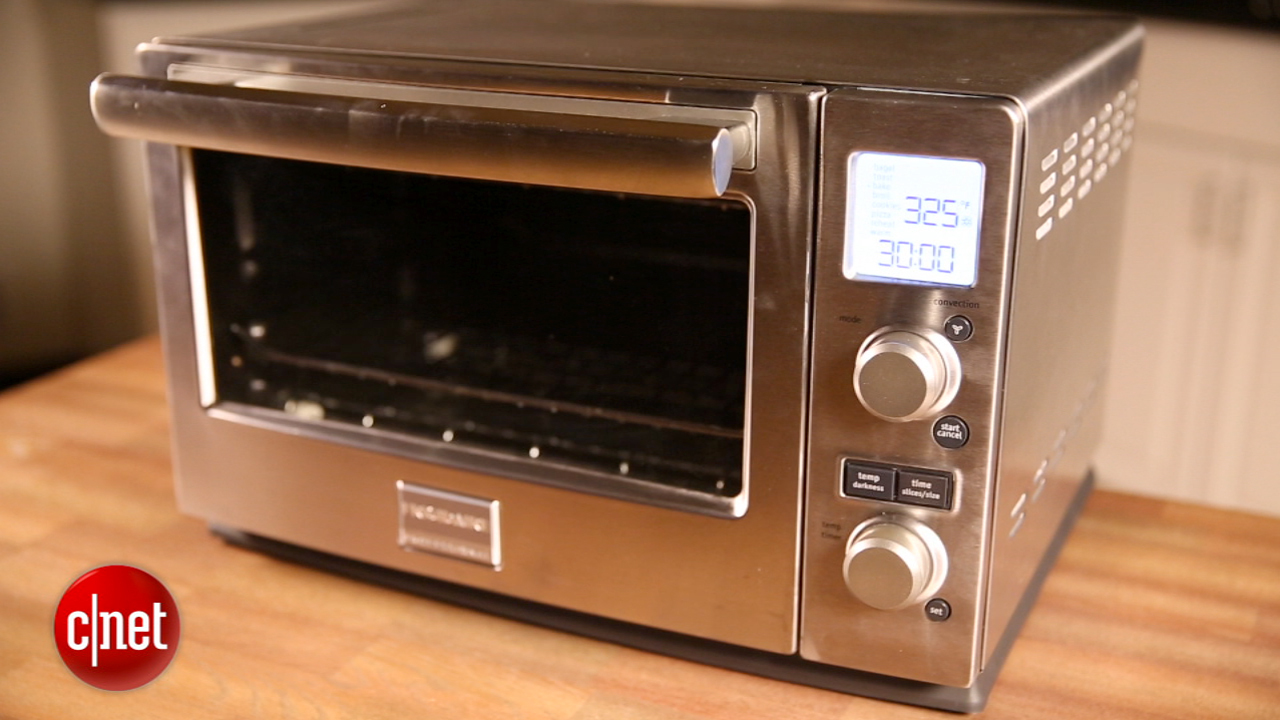 Professional Countertop Convection Oven Reviews : Frigidaire Professional 6-Slice Convection Toaster Oven review - CNET