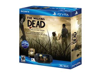 Sony PlayStation Vita (3G) The Walking Dead Limited Edition