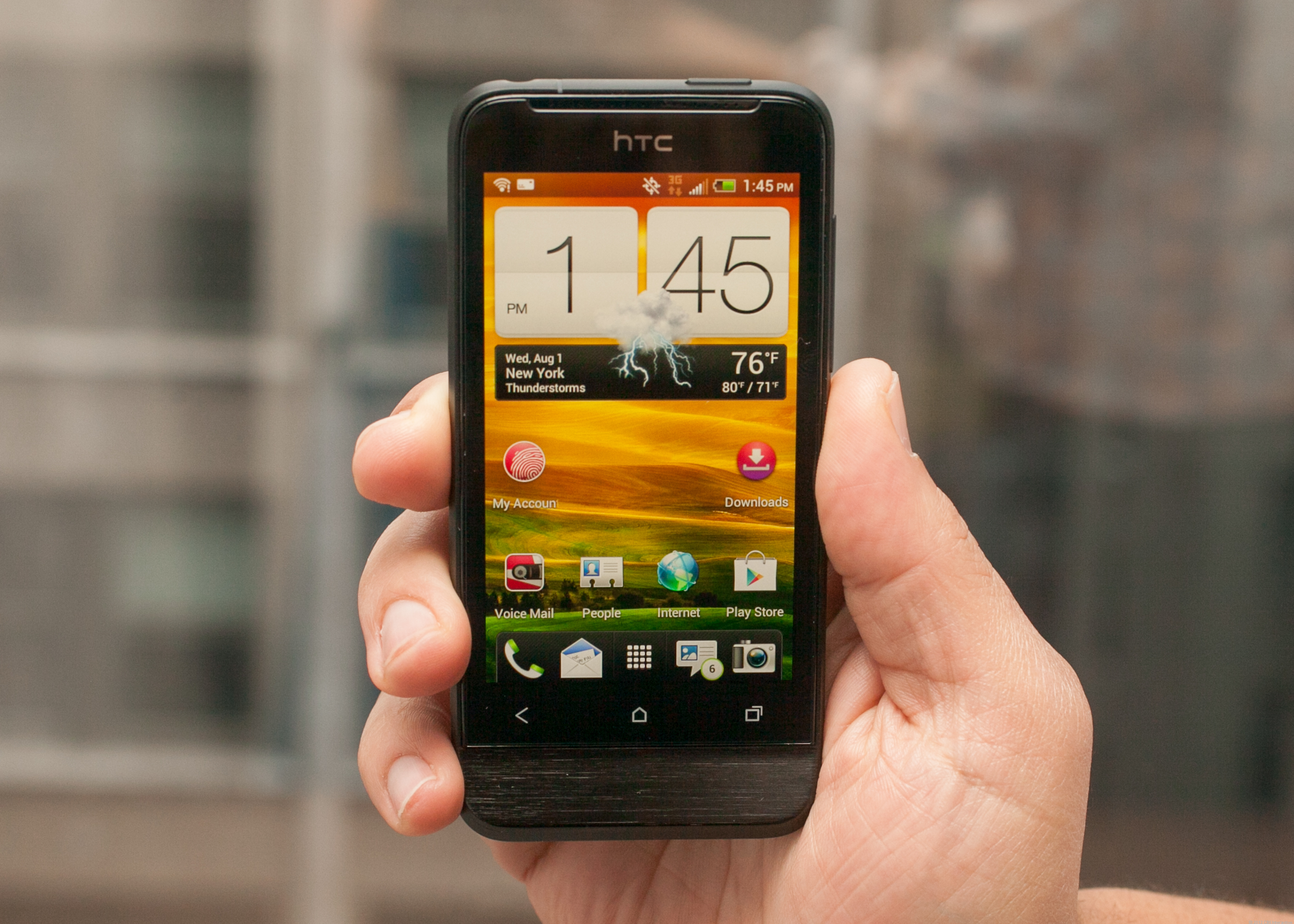 HTC One V (Cricket Wireless)