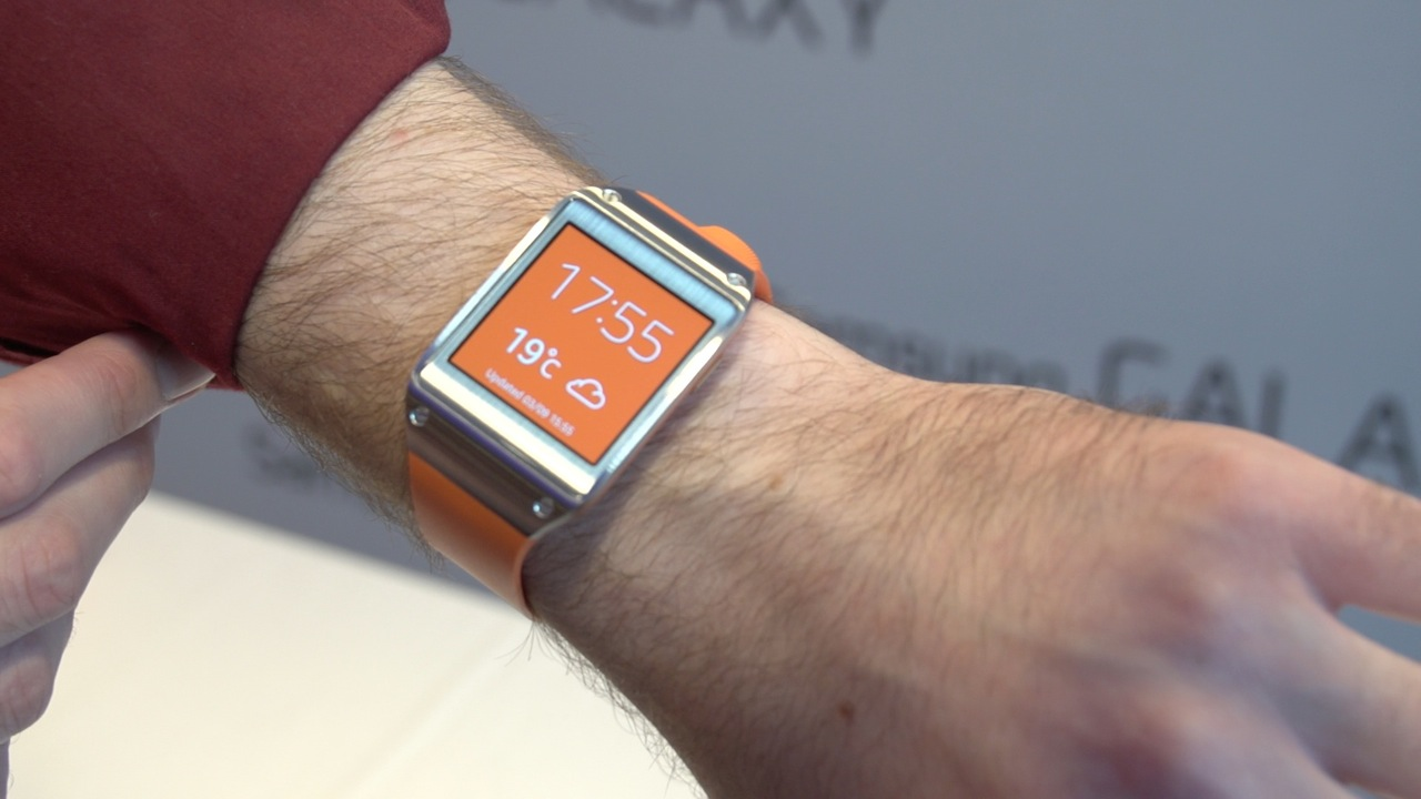Video: Samsung Galaxy Gear watch that pairs with your phone