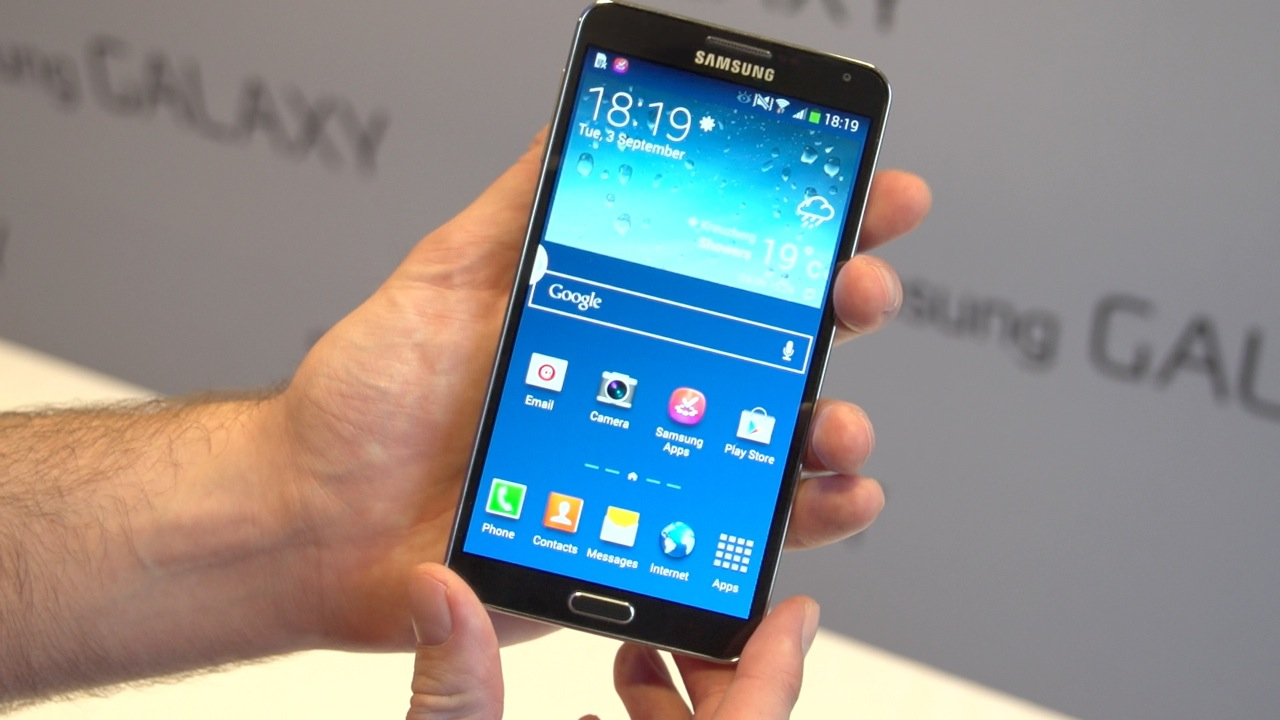 Video: The Samsung Galaxy Note 3 is a multitasking marvel