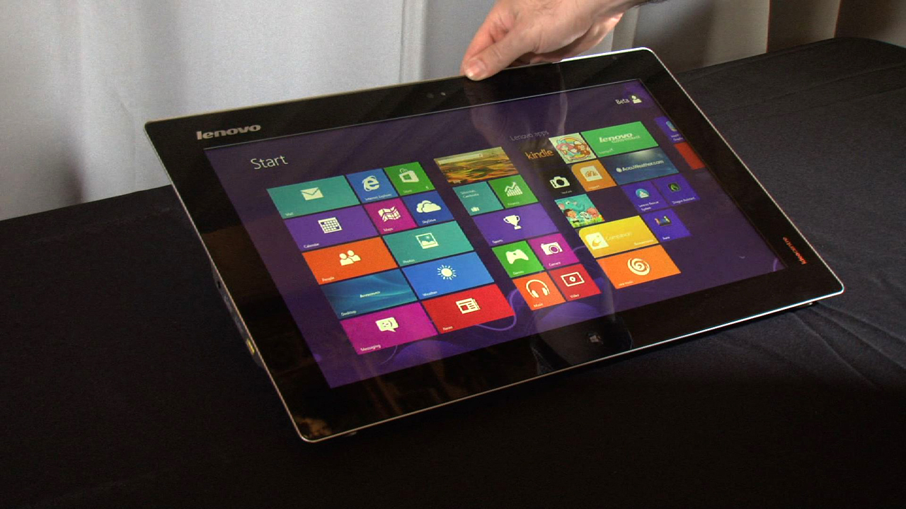 Video: Lenovo IdeaPad Flex 20 hands-on: a tabletop PC that's not too heavy