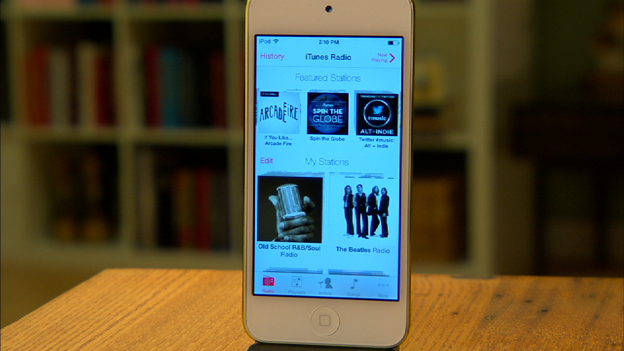 Video: iTunes Radio now playing on iOS 7