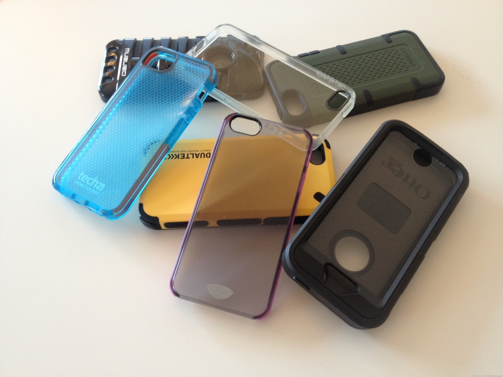 iPhone 5/5S cases galore
