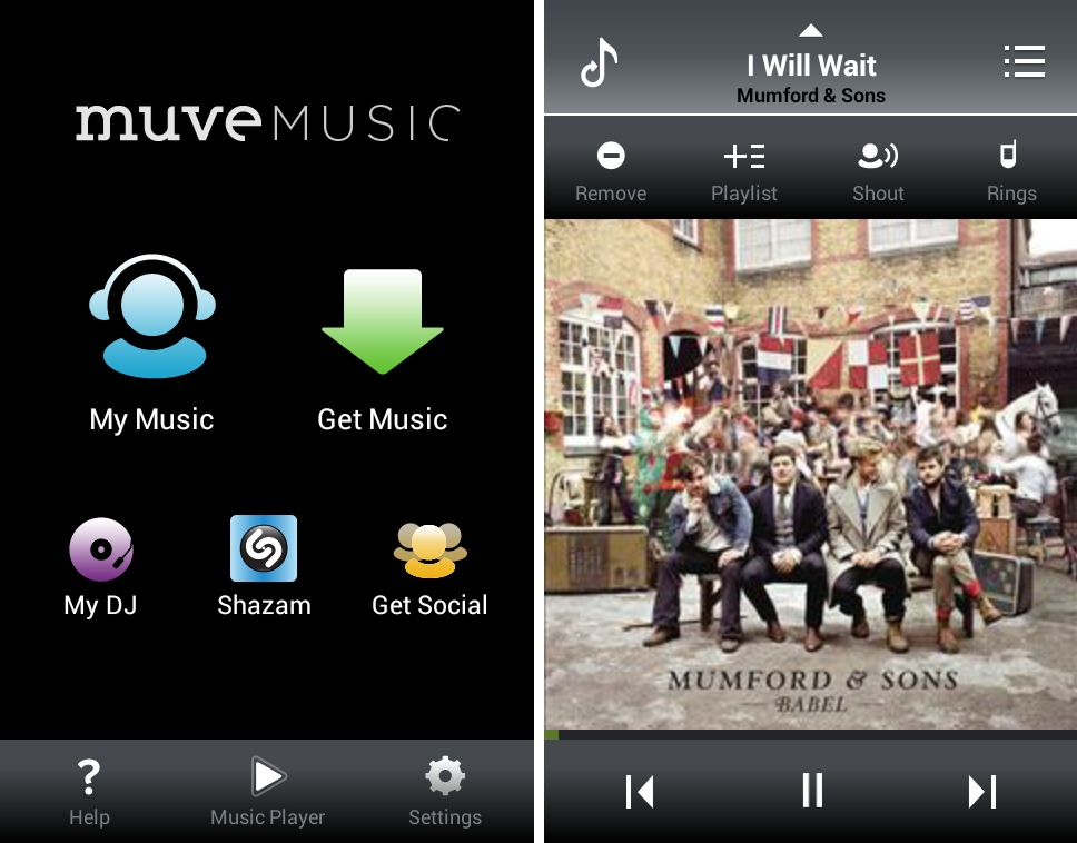 Cricket's Muve Music service, which is built into the rate plan, lets