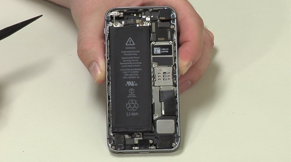 Video: Cracking Open the iPhone 5S