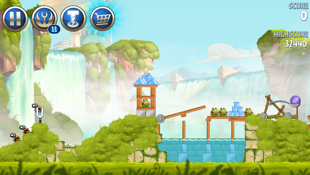 Angry Birds Star Wars II (iOS)