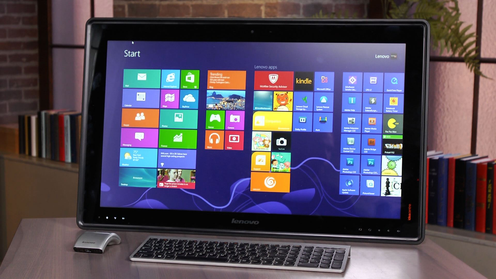 Video: Primer vistazo: Lenovo IdeaCentre Horizon 27 (Core i5)
