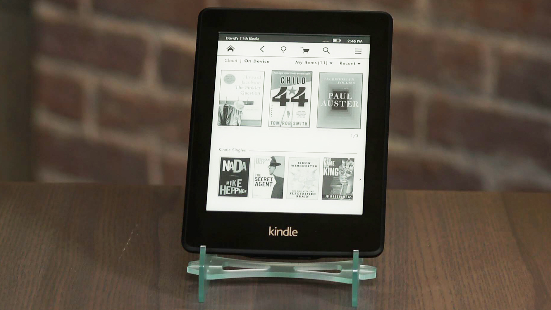 Video: New Kindle Paperwhite gets zippier, better built-in light