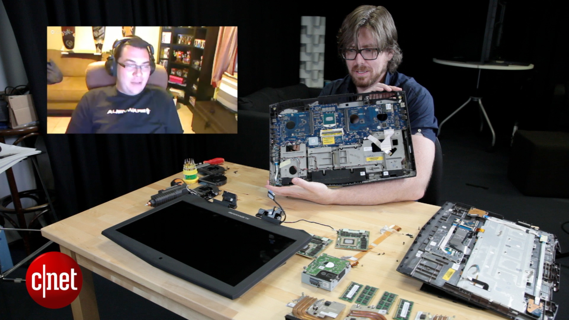 Video: Alienware 18 teardown
