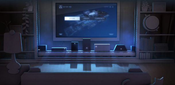 "PC game distribution company Steam has been threatening to bring its market-leading online storefront to TV screens for years. First it launched a ""Big Picture Mode,"" a 10-foot experience for PCs connected to televisions, and now it's promising the <a href=""http://news.cnet.com/8301-1023_3-57604587-93/valves-steam-machine-prototype-to-ship-early-to-300-lucky-players/"">long-awaited Steambox</a>, a portable boxlike PC that connects to a TV and uses a unique game-pad-like controller to bridge the gap between console and PC gaming. Now, the Steambox (the exact details of which are still under wraps), is actually a prototype that Steam hopes other hardware companies will use to build similar devices, but several hundred beta testers should have access to hardware soon, and the buzz around Steambox is only going to get bigger."