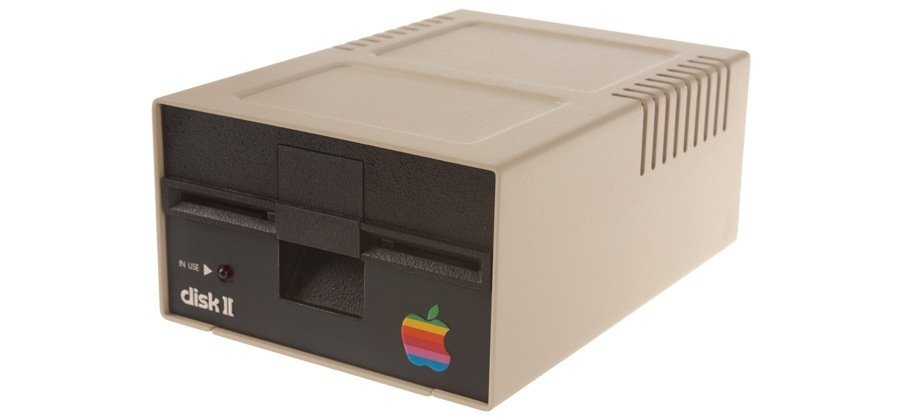 Apple Disk II external storage