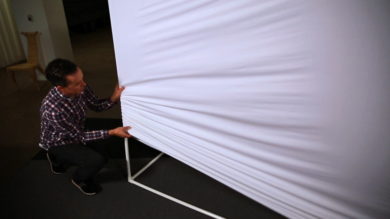 Video: Make a giant projection screen