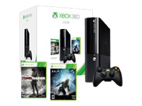 Microsoft Xbox 360 E (250GB) Holiday Bundle (Tomb Raider & Halo 4)