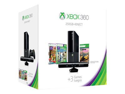 Microsoft Xbox 360 E Kinect (250GB) Holiday Bundle (Forza Horizon)