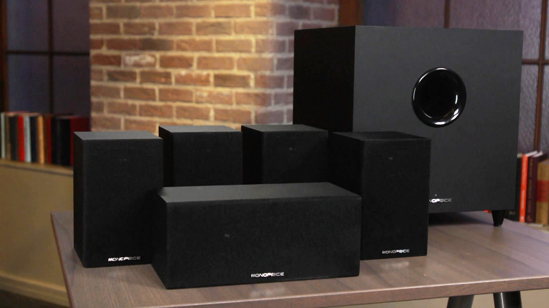 Video: Monoprice 10565: Superb sounding speakers a little short on style
