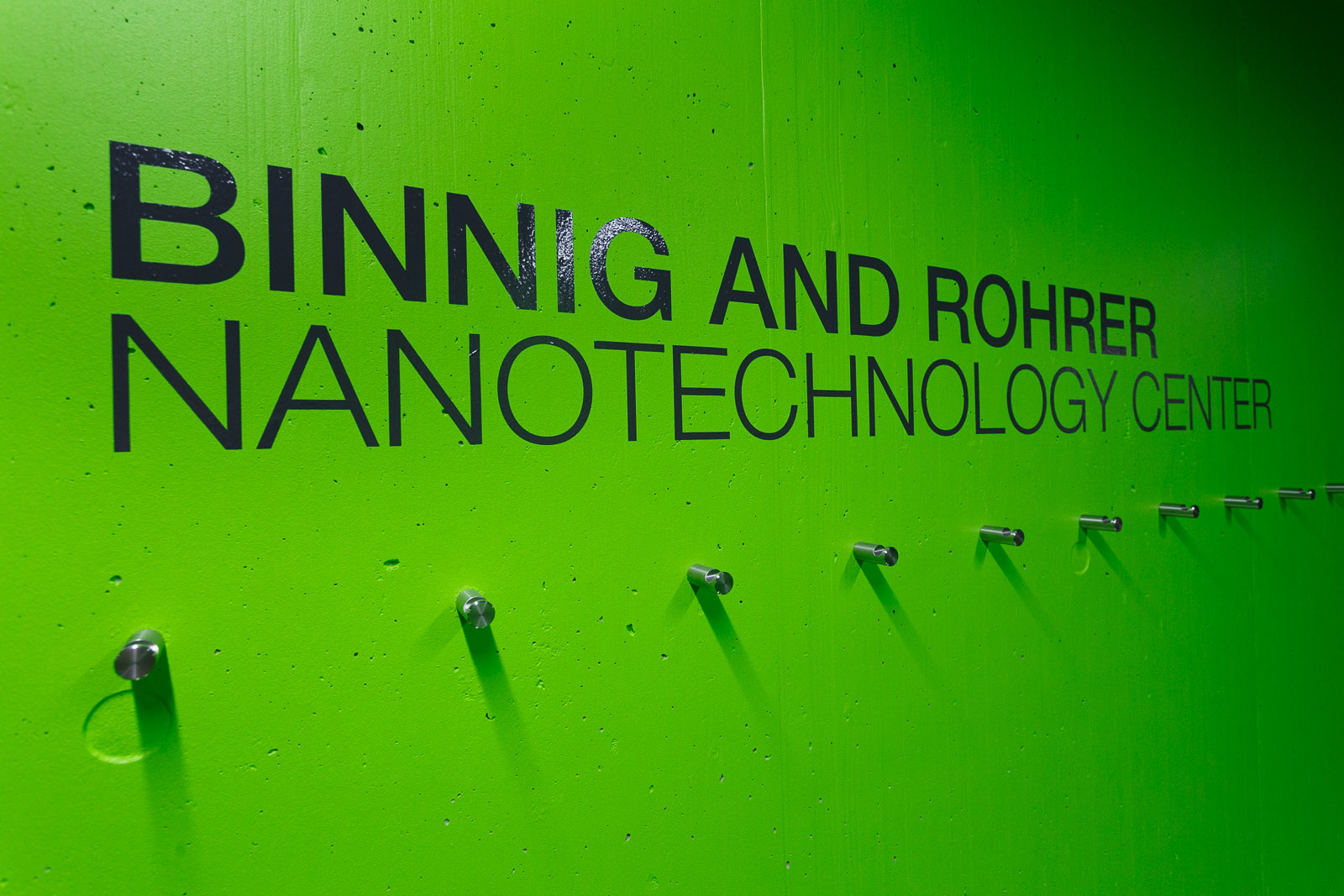 IBM built its new noise-free labs at its Binnig and Rohrer Nanotechnology Center at IBM Research's Zurich lab. The center is named after Gerd Binnig and Heinrich Rohrer, IBM researchers awarded the Nobel Prize for their invention of the scanning tunneling