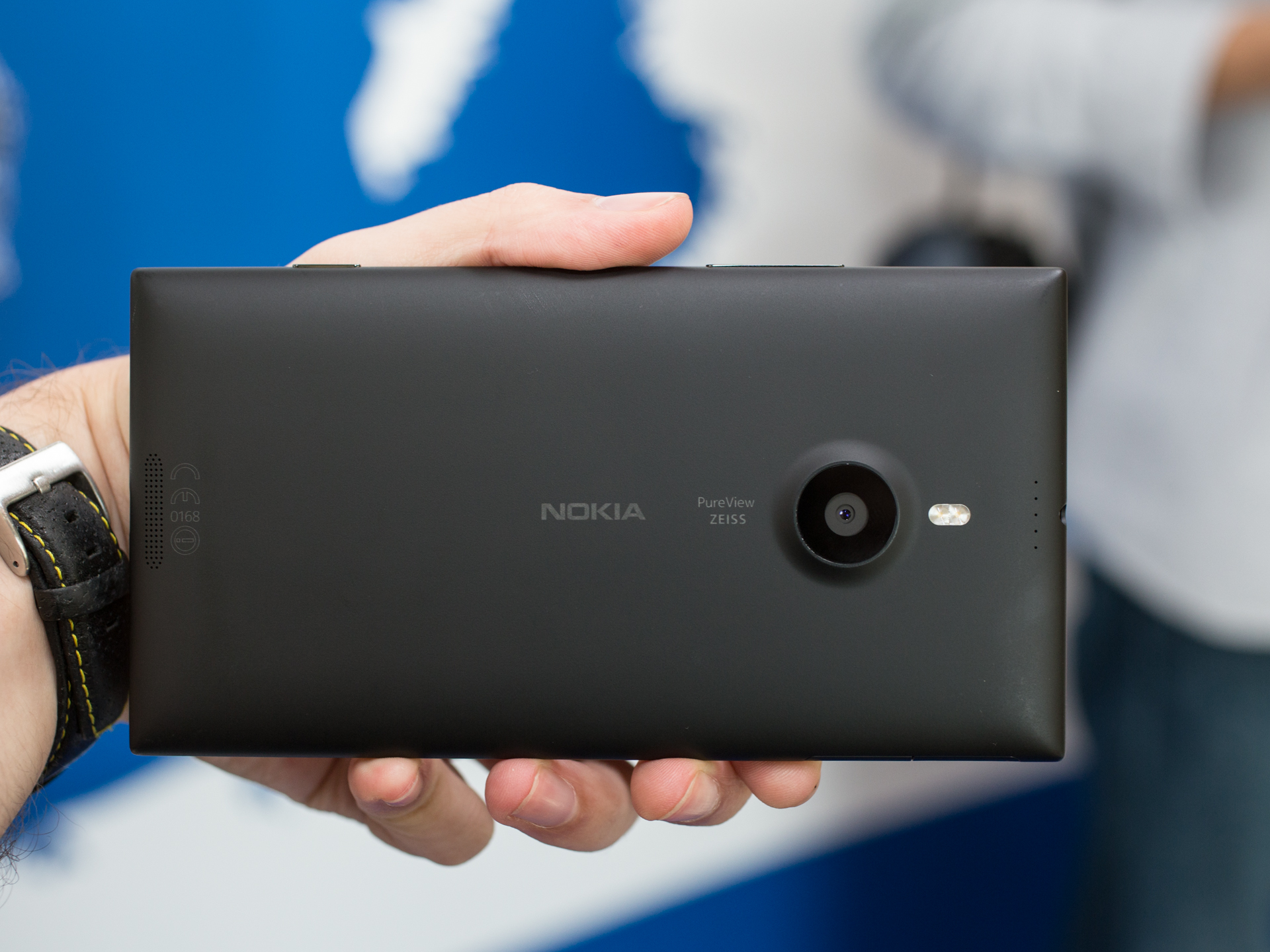 The Nokia Lumia 1520 comes with a 20-megapixel image sensor and a Carl Zeiss f2.4 lens.