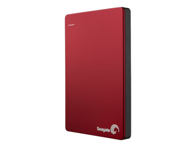 Seagate Backup Plus Slim (2TB, Red)