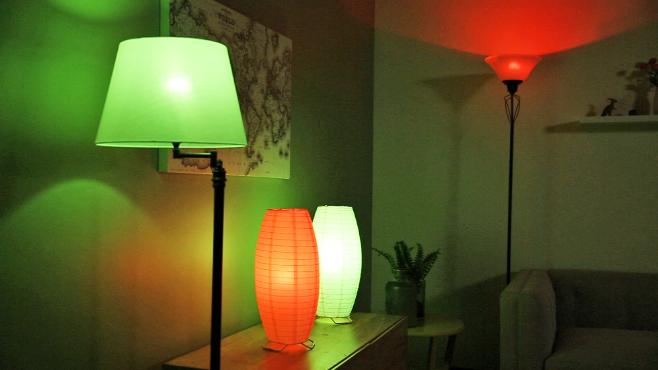 Video: Getting festive with the Philips Hue Starter Kit