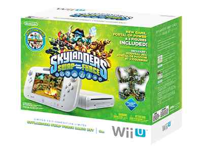 Nintendo Wii U Basic Skylanders Swap Force Limited Edition