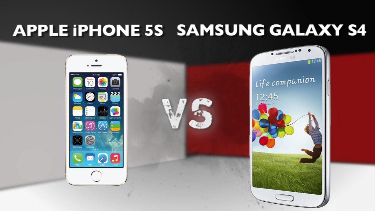 Video: Apple iPhone 5S vs. Samsung Galaxy S4