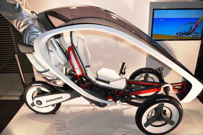 Bridgestone electric tricycle