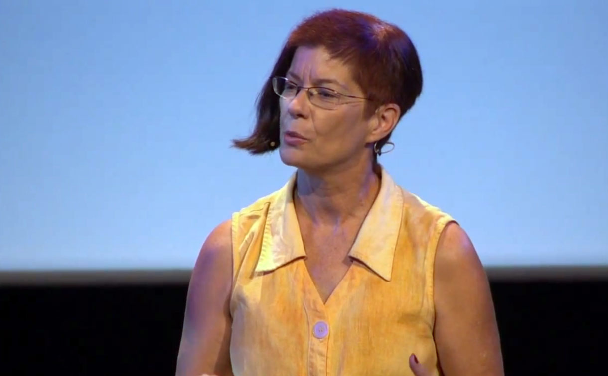 Mozilla Executive Chairwoman Mitchell Baker speaking in 2014.