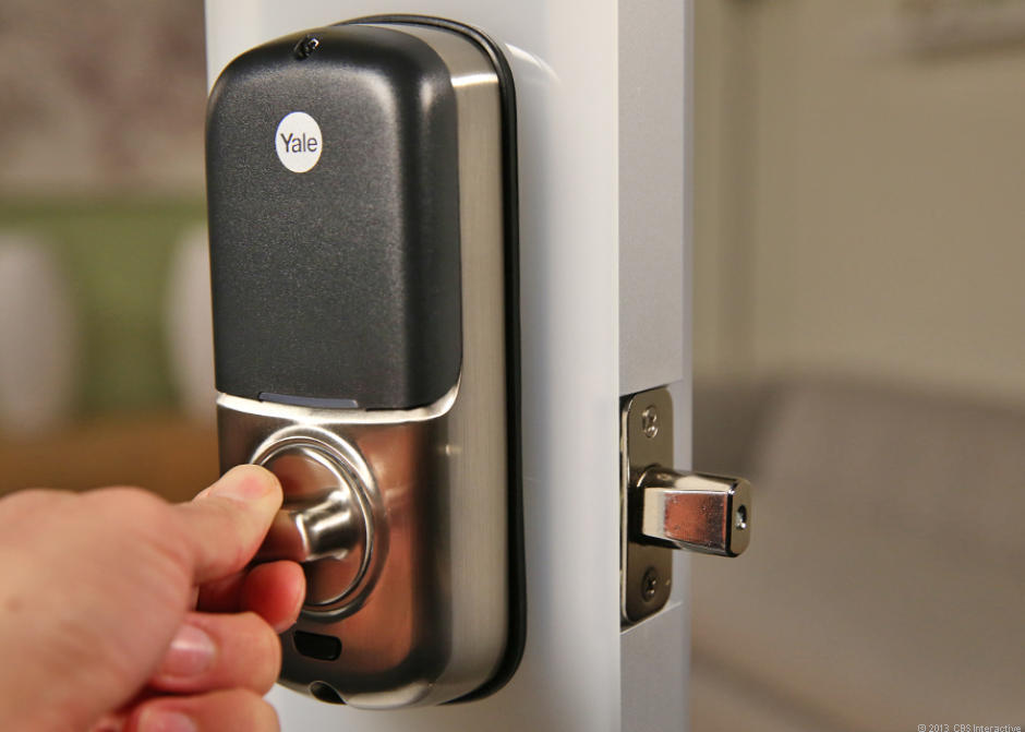 Yale Real Living Touchscreen Z Wave Deadbolt Review Cnet