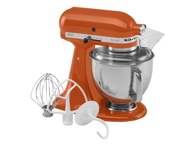 KitchenAid Artisan Series 5-Quart Tilt-Head Stand Mixer (persimmon)
