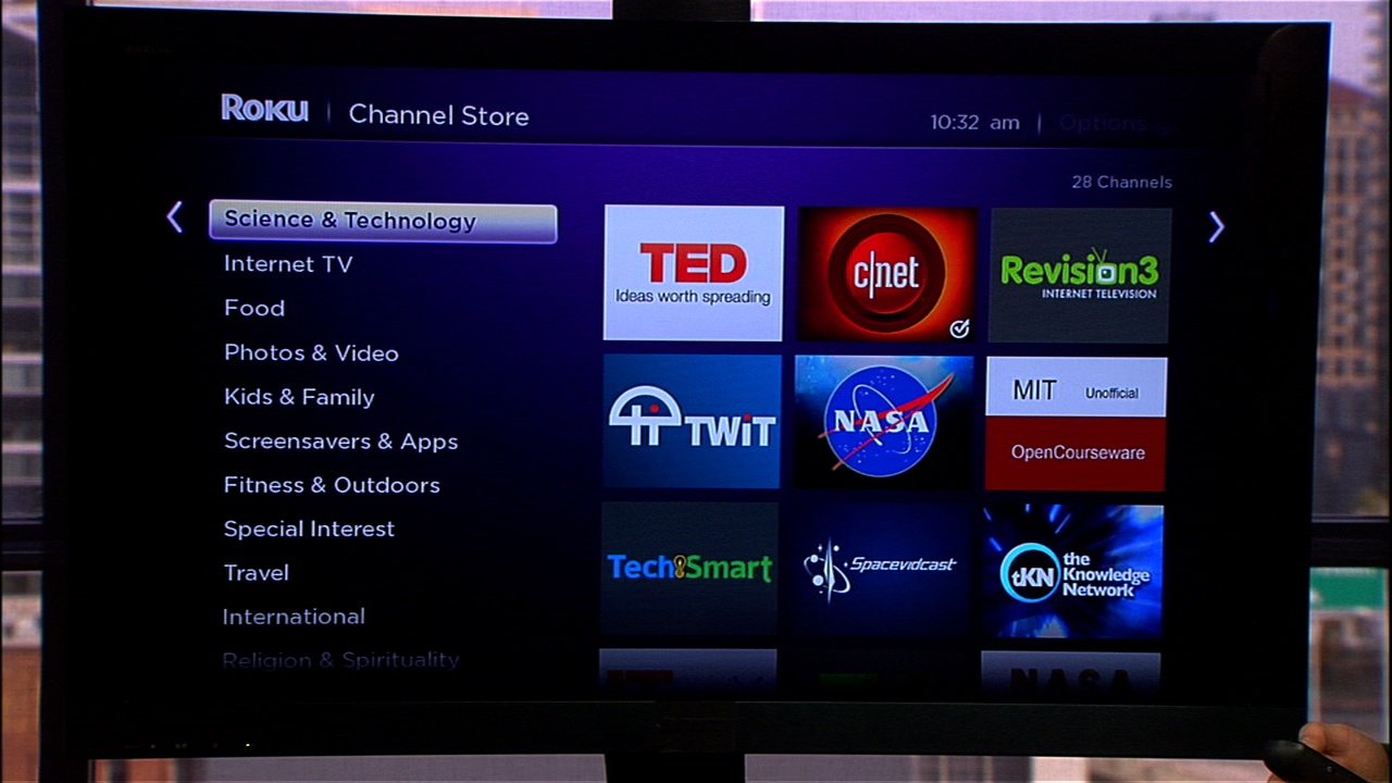 Video: Add private channels to Roku