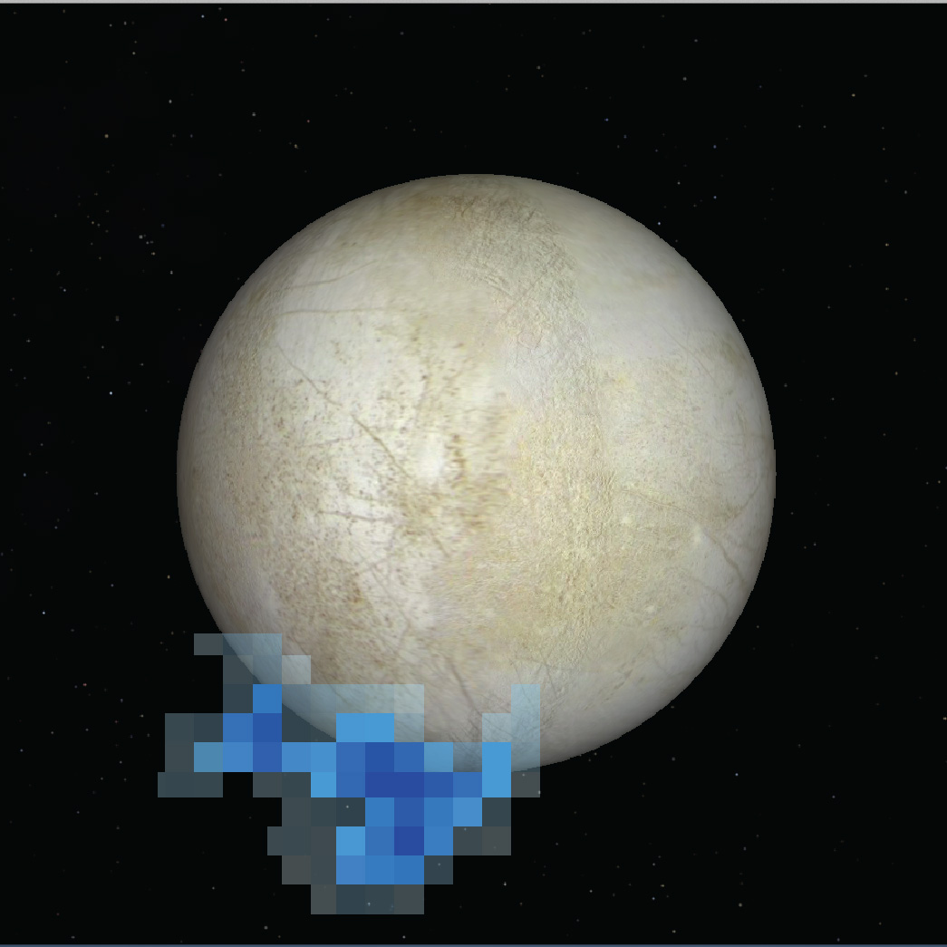 Europa vapor location