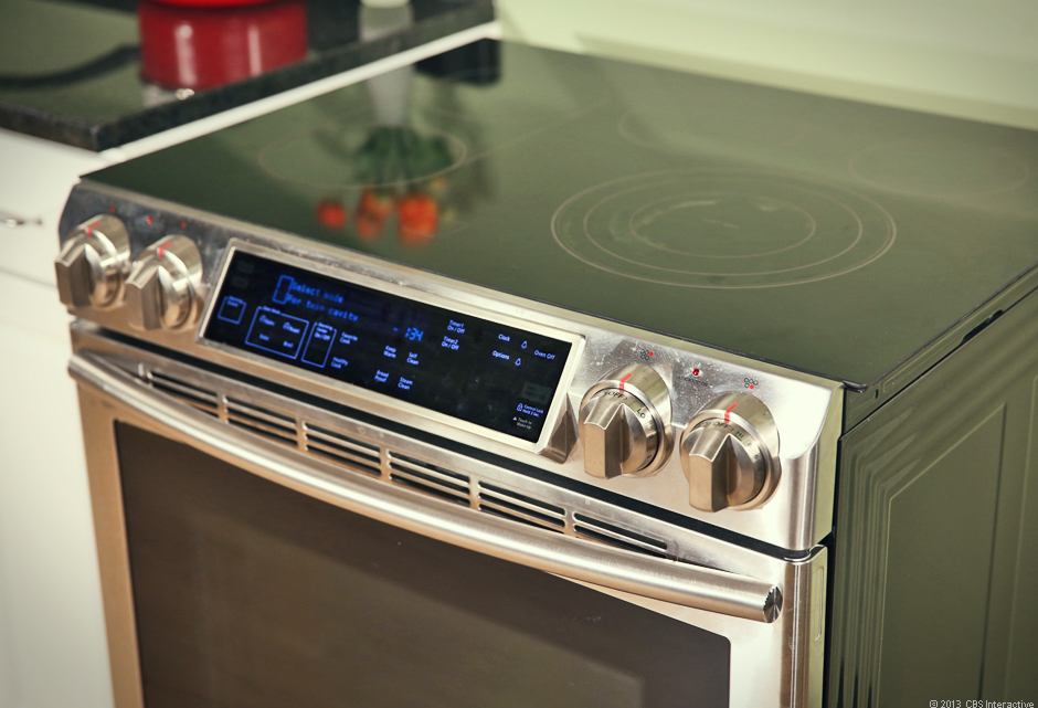 Samsung NE58F9710WS Slide-In Electric Range with Flex Duo Oven