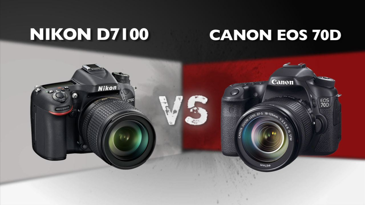Video: Nikon D7100 vs. Canon EOS 70D