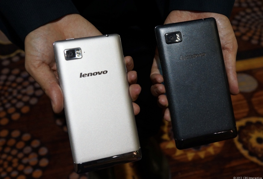 Lenovo Vibe Z colors