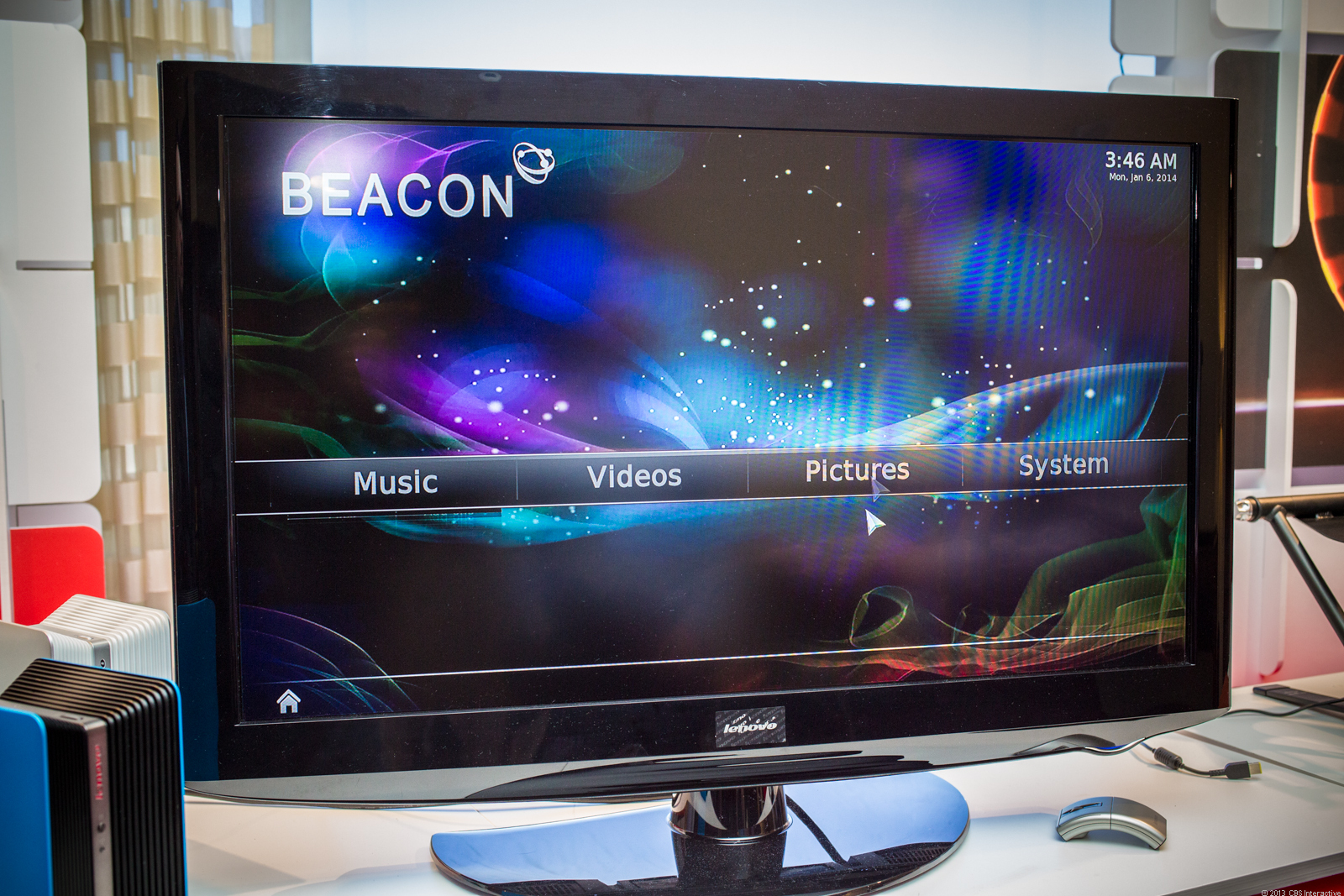 Lenovo Beacon interface