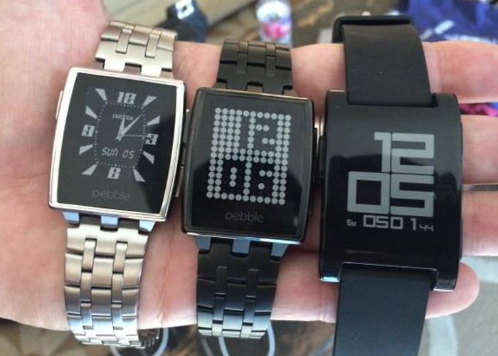 two new Pebble smartwatches with their predecessor