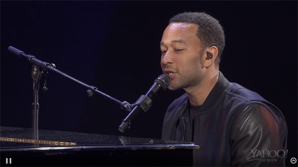 John Legend at CES 2014