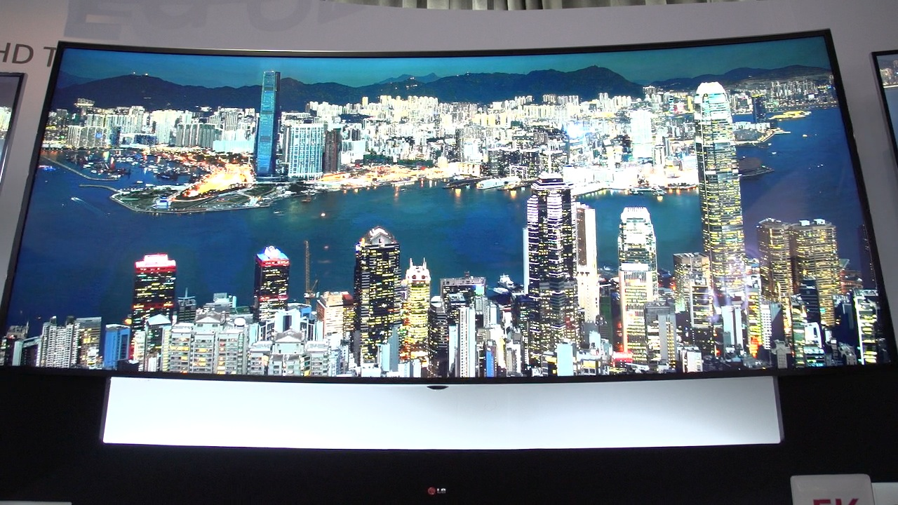 Video: LG's 105-inch TV boasts a '5K' panel