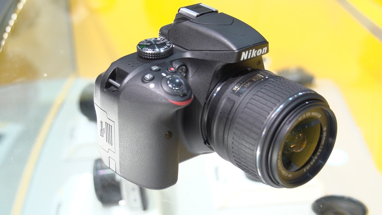 Video: Nikon D3300 revs up the entry-level SLR