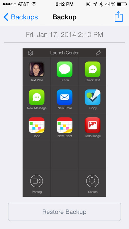 Launch Center Pro (iOS)