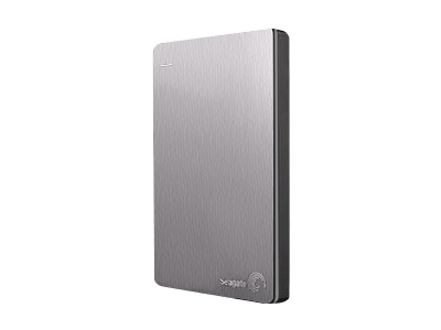 Seagate Backup Plus Slim (1TB, Silver)