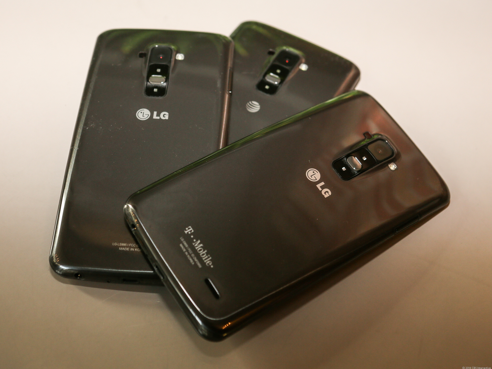LG G Flex (all carriers rear)