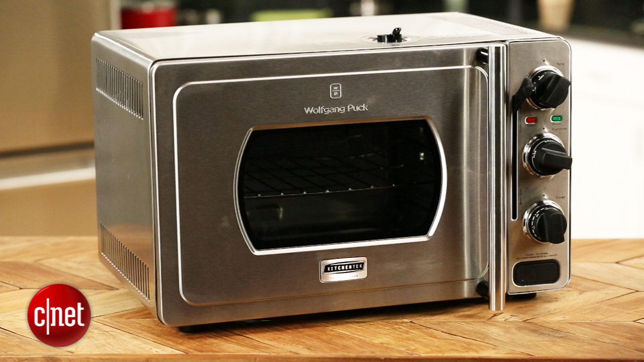 Video: Dial up the pressure with Wolfgang Puck's new oven