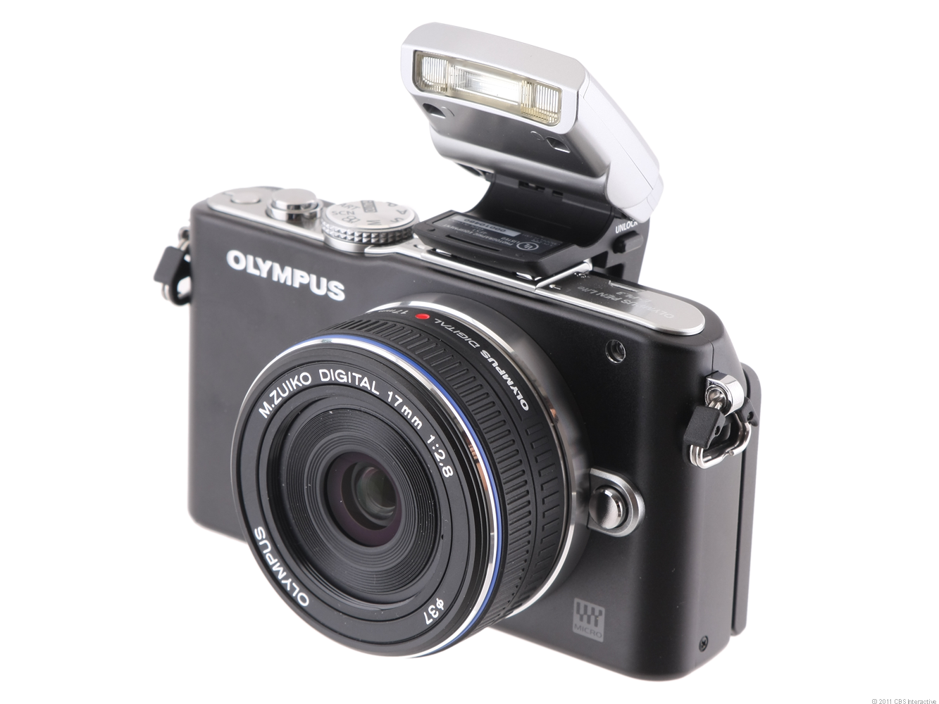 Olympus PEN E-PL3 (with 17mm lens, Black)