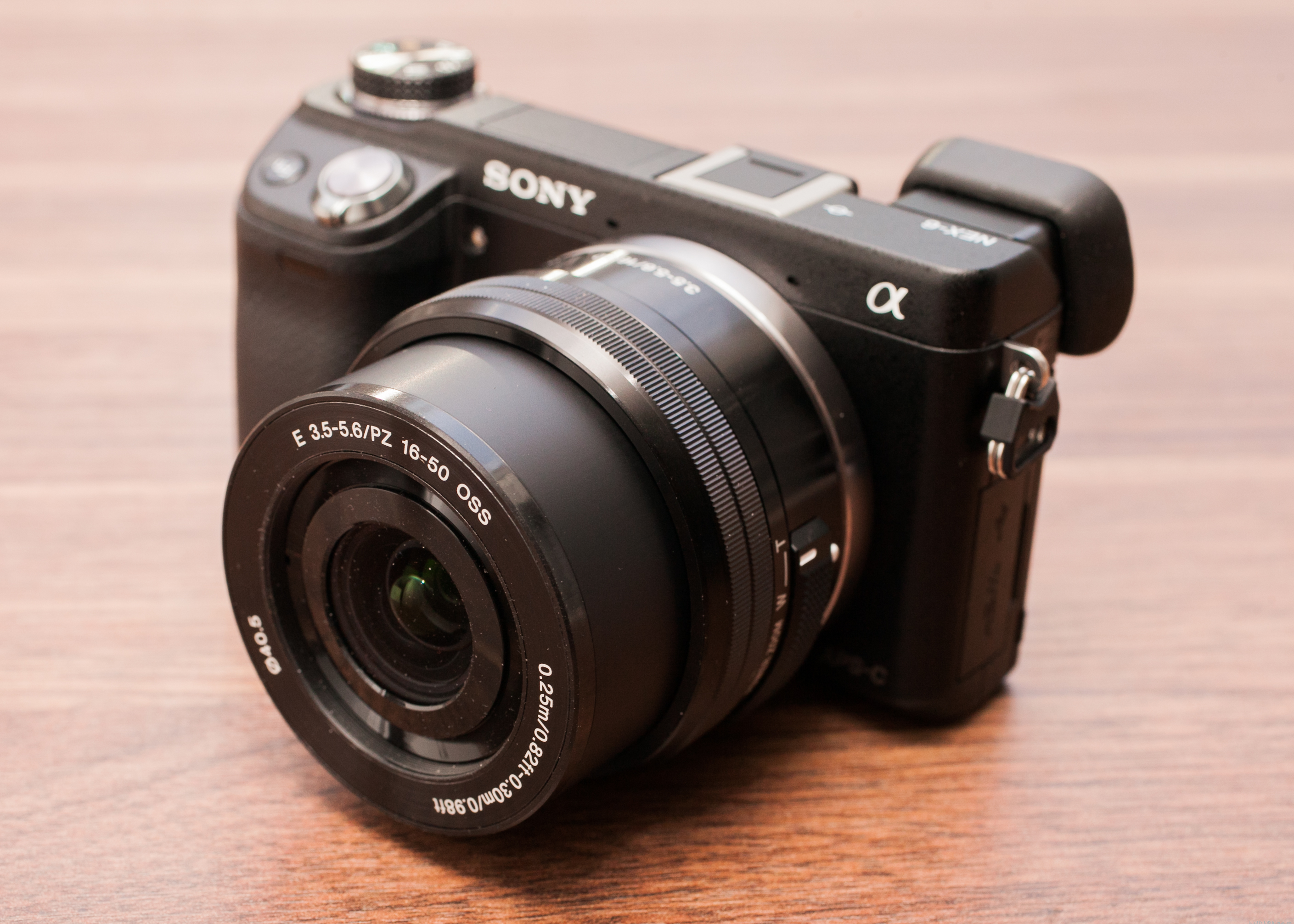 Sony Alpha NEX-6 (with 16-50mm PZ lens)