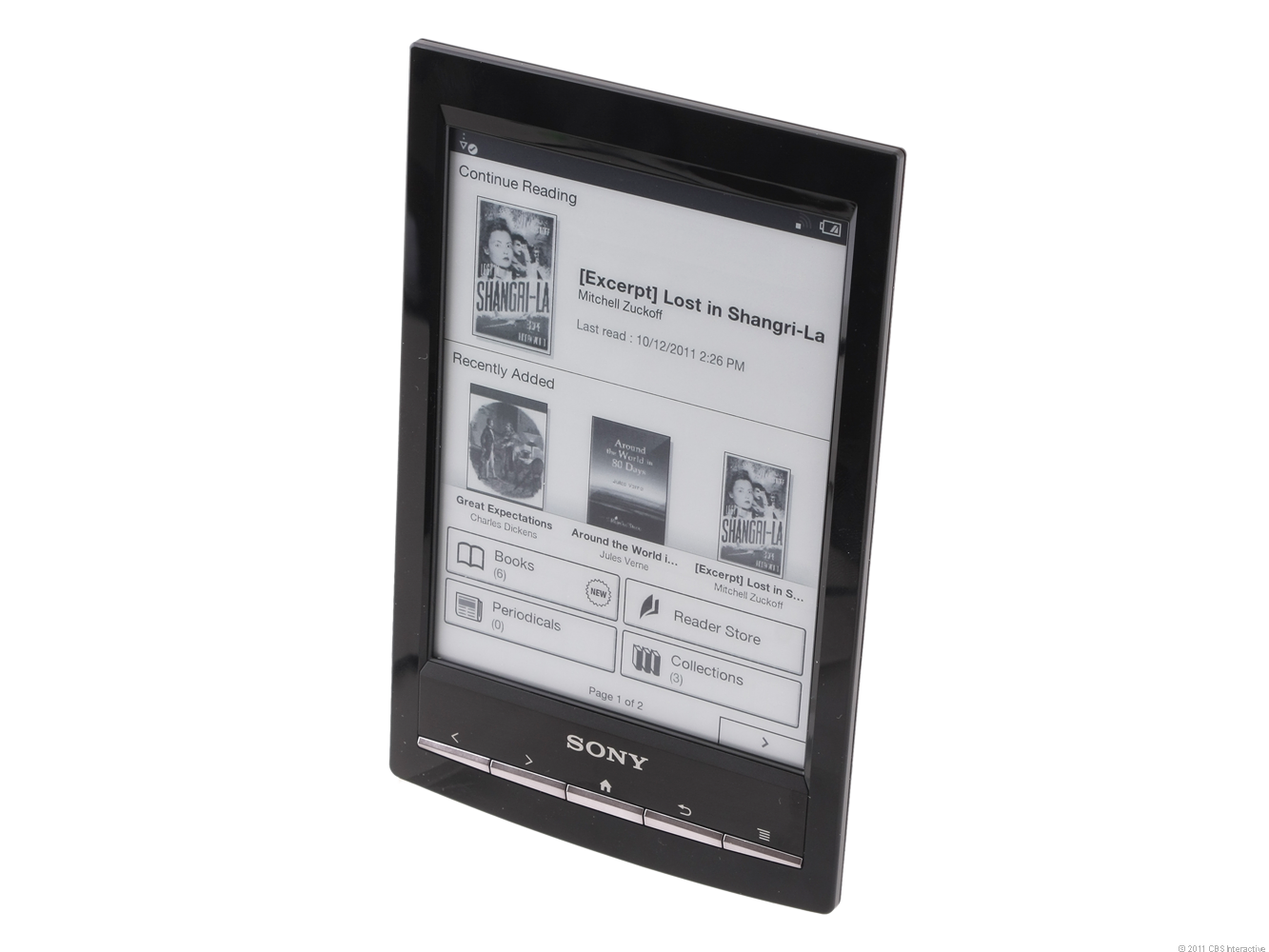 Sony Reader Wi-Fi PRS-T1WC