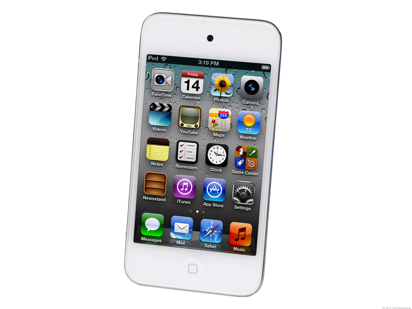 Apple iPod Touch 2011 (64GB, white)